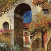 Arco Al Buio Art Print