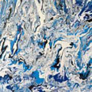 Arctic Frenzy Art Print