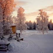 Arctic Homestead Art Print