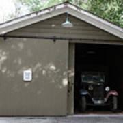 Ardenwood Historic Farm Garage Art Print