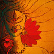 Ardhanarishwar Art Print