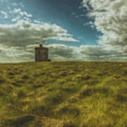 Ardmore Lookout Tower Art Print