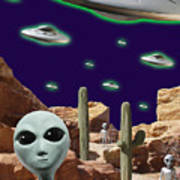 Area 51 Art Print
