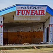 Arena Funfair. Art Print