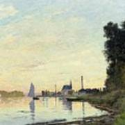 Argenteuil, Late Afternoon Art Print