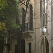 Argentinian Street Lamp Art Print