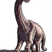 Argentosaurus Art Print