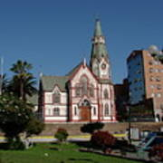 Arica Chile Church Art Print