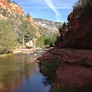 Arizona Canyon Sky Two Art Print