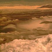 Arizona Cloudscape II Art Print
