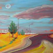 Arizona Highway 1 Art Print
