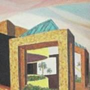 Arizona Park Building Art Print