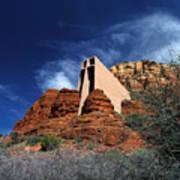 Arizona, Sedona  Chapel Of The Holy Cross Art Print