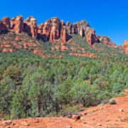 Arizona-sedona-soldier's Pass Trail Art Print
