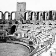 Arles Amphitheater A Roman Arena In Arles - France - C 1929 Art Print