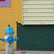 Arlington Hydrant Art Print