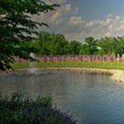 Arlington Memorial Gardens Art Print