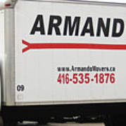 Armando Movers Art Print
