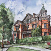 Armstrong Mansion Art Print