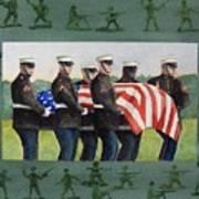 Army Men Art Print