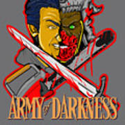 Army Of Darkness Ash Art Print