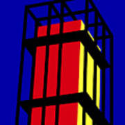 Arne Jacobseb Tower Art Print