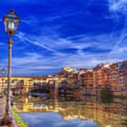 Arno River Florence Art Print
