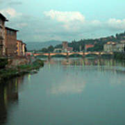 Arno River, Florence, Italy Art Print by Mark Czerniec