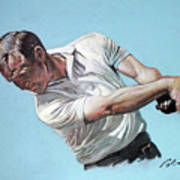 Arnold Palmer- The King Art Print