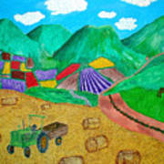 Aromatic Harvest Art Print