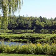 Aroostook River Landscape Art Print