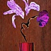 Arrangement In Purple Art Print