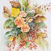 Arrangement In Yellow Art Print