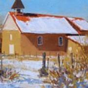 Arroyo Seco In Winter Art Print