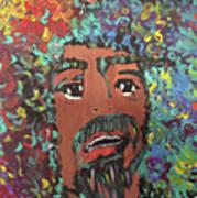 Art Afro Art Print