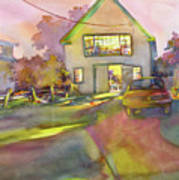 Art Barn, Port Clyde Art Print