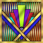 Art Deco 23 Art Print