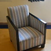 Art Deco Chair Art Print