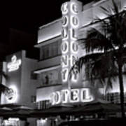 Art Deco Miami Beach Art Print