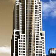 Art Deco Nbc Tower Art Print