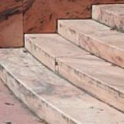 Art Deco Steps Art Print