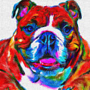 Art Dogportrait Art Print