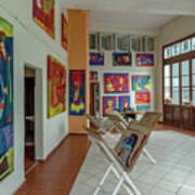 Art Gallery In Havana Art Print