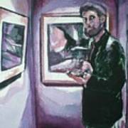 Art Gallery Visitor Art Print