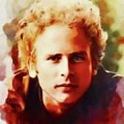 Art Garfunkel, Music Legend Art Print