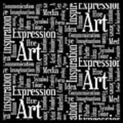 Art Idea Inspiration Art Print