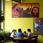 Art In Mexico Art Print