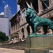 Art Institute Of Chicago Chicago Il Usa Art Print