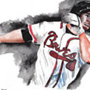 Art Of The Braves Print by Torben Gray