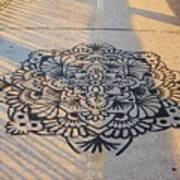 Art On Manhattan Bridge Art Print